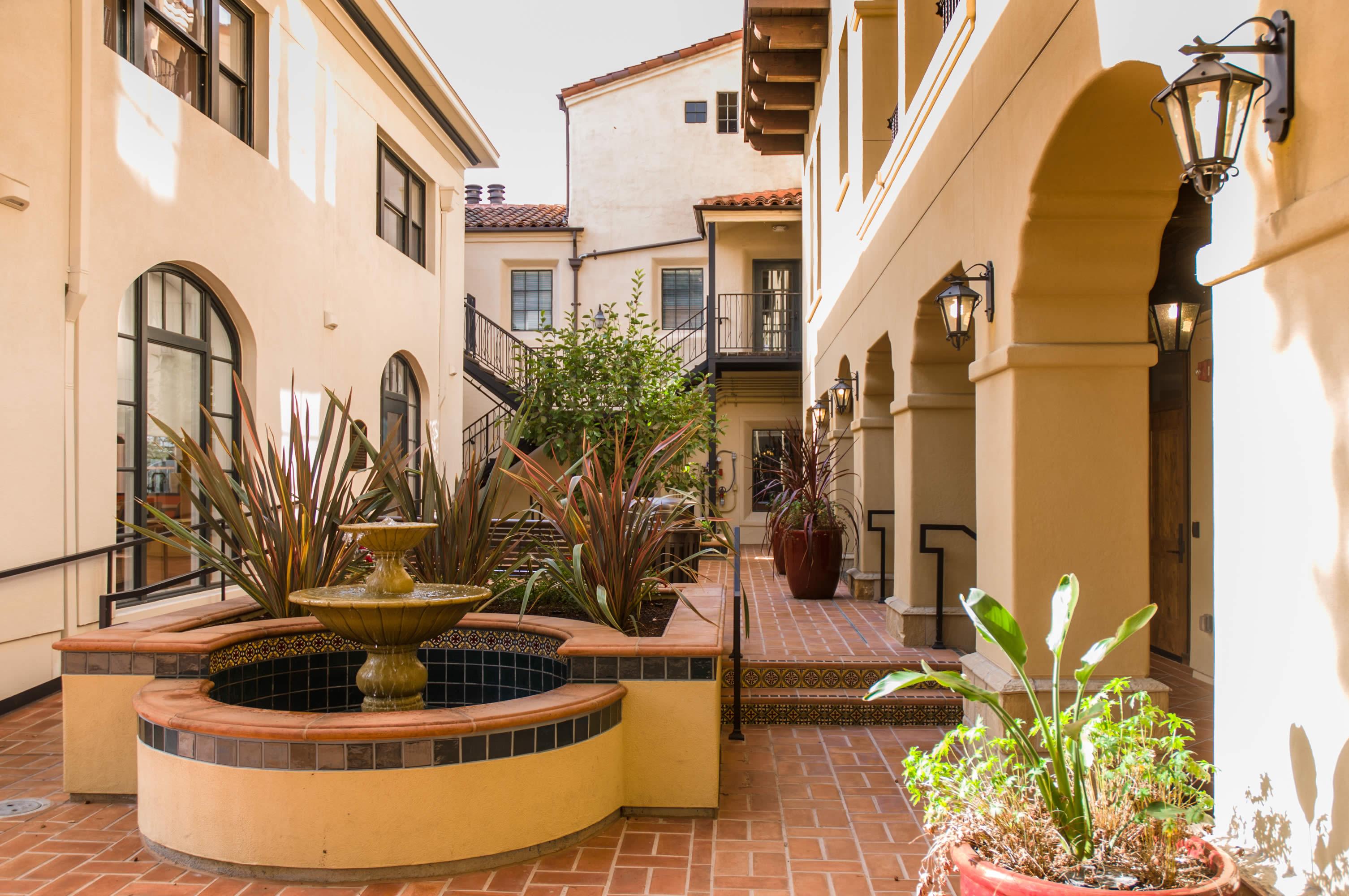 Fountain/ Courtyard View
