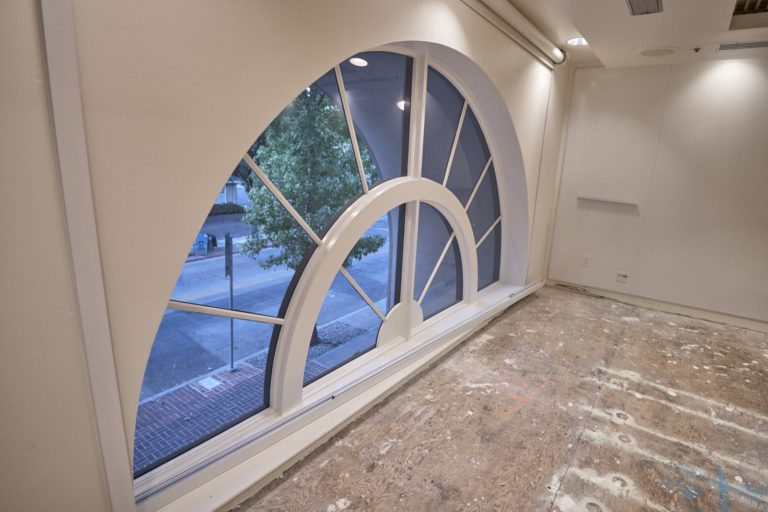 Conference Room Arch Window